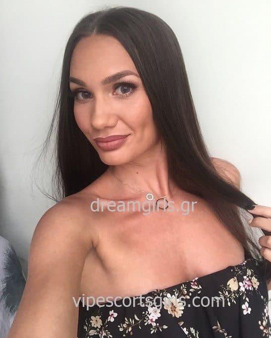 brunette escorts athens